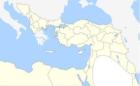 Ottoman Empire Borders Baghdad Ethnic Geography