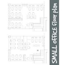 office floor plan symbols standard office furniture symbols on floor plans vector image