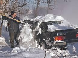 Штраф за снег ввел наш мэр Собянин