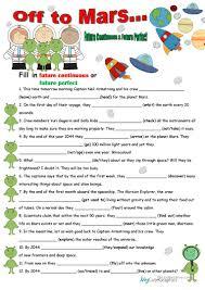 35 free esl future perfect worksheets