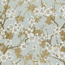schumacher ming cherry blossom aqua wallpaper