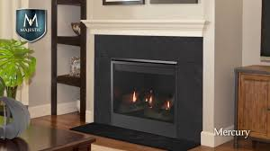 majestic mercury gas fireplace youtube