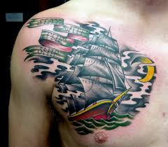 traditional chest tattoos for men google search chris tattoo