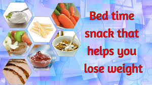 7 bed time snack that help in weight loss youtube