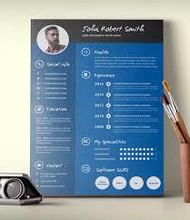 free creative resume templates 28 infographic resume templates free premium