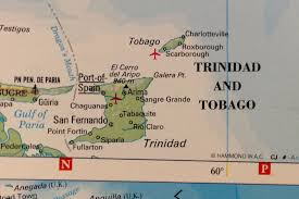 Trinidad Map Trinidad And Tobago