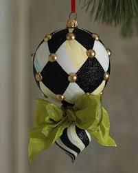 mackenzie childs harlequin drop ornament