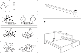 malm bed frame ikea instructions tuforce com pdf 1 msexta