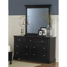 Bedroom Dressers With Mirror Black Dresser With Mirror Drawers Moncler Factory Outlets Com
