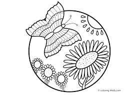 coloring pages butterflies unseen art org