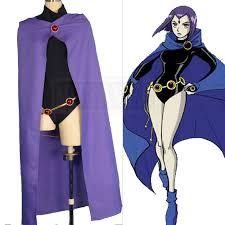 Cheap Tween Halloween Costumes Cheap Teen Titans Raven Cosplay Aliexpress