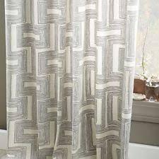 Cotton Canvas Curtains Set 2 West Elm Zigzag Chevron Curtain 48 X 84 Cotton Canvas Maize