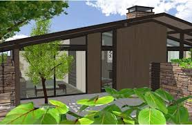Mid Century Modern Ranch House Plans Mid Century Modern Ranch Style House Plans House And Home Design