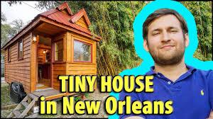 Tumbleweeds Tiny House by Derek U0027s Tumbleweed Tiny House In New Orleans Youtube