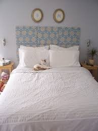 How To Make Your Own Fabric Headboard by Best 25 Canvas Headboard Ideas On Pinterest Headboards For Beds