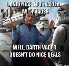 Lando Calrissian Meme - image result for lando calrissian meme star wars pinterest