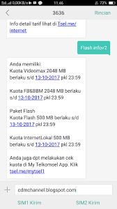 kuota bbm dan fb telkomsel cara mudah membeli paket 5gb 25rb di kartu as telkomsel channel