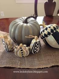 Mackenzie Childs Pumpkins Diy by Locksley Lane Painting Wooden Pumpkins And Acorns