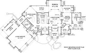 rustic home floor plans baby nursery mountain house floor plans rocky mountain lodge