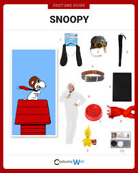 snoopy costume dress like snoopy costume and guides