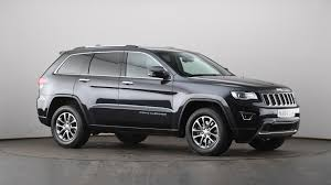 diesel jeep grand cherokee used jeep grand cherokee 3 0 crd limited 5dr auto grey na64ojm
