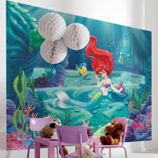 Princess Wall Mural by Disney Princess Ariel Wallpaper Great Kidsbedrooms The Children