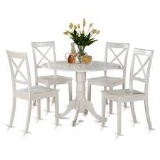 White Kitchen  Dining Room Sets Youll Love Wayfair - Dining room sets white
