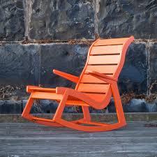 Indoor Outdoor Rocking Chair Modern Outdoor Rocking Chair Made In U S Loll Designs