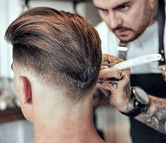 back images of men s haircuts taper fade and slicked back hairstyle for men ünlüler