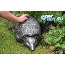 hedgehog garden ornament