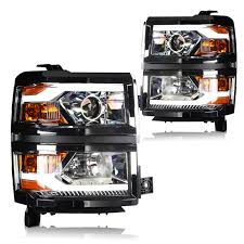 led lights for 2015 silverado winjet projector head lights