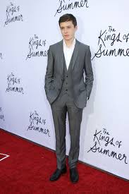 nick robinson at the los angeles special screening of the kings of