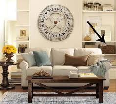 pottery barn wall clock for living room u2013 wall clocks