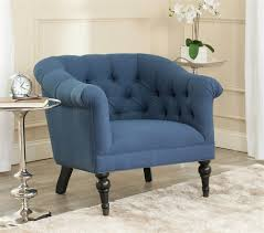 Navy Blue Accent Chair Navy And White Accent Chair Alleyesonscreen Me