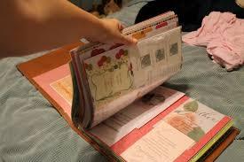bridal shower photo album keepsake ideas for wedding cards the card box