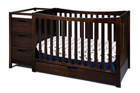 Convertible Cribs With Changing Table And Drawers Baby Cribs With Changing Table Combo Convertible Crib Dresser