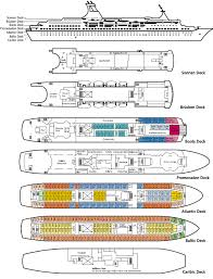 Cruise Ship Floor Plans by Clubtravel Cruises M S Astor