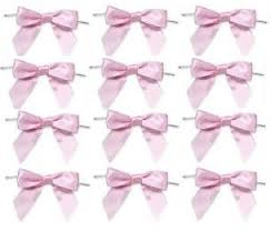 pre bows 12 pack baby pink pre bows party favor gift