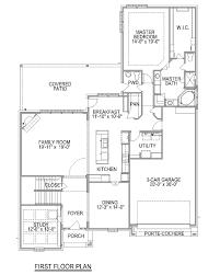 plan f758 cross creek ranch 65 u0027 in fulshear tx