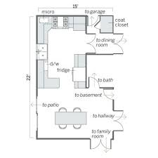 open kitchen floor plans pictures small kitchen floor plans nourishd co