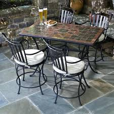 Patio High Table And Chairs 78 Outdoor Patio Dining Table Italian Mosaic Stone Marble Tuscany