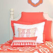 amazon com headboard pillow coral twin home u0026 kitchen