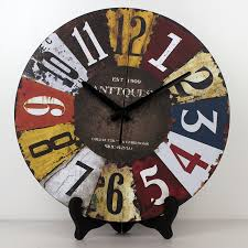 Vintage Wholesale Home Decor Compare Prices On French Table Clock Online Shopping Buy Low