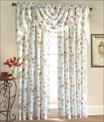 Blue Valance Curtains Living Room Fabulous One Inch Curtain Rods Bed Curtains Walmart