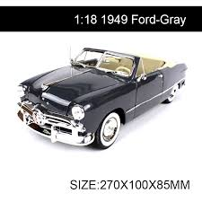 collectible model cars 1 18 diecast car 1949 convertible cars 1 18 alloy car