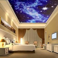 3d bright stars wallpaper mural for ceiling wall bedroom living 3d bright stars wallpaper mural for ceiling wall