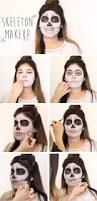 best 25 easy skeleton makeup ideas on pinterest easy halloween