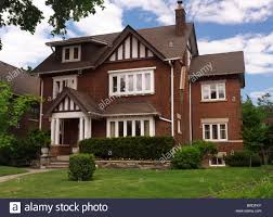 beautiful large house in toronto ontario canada summertime