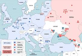 Europe Russia Map Nato And Russia Conflict U2013 Are We Heading Back To Cold War