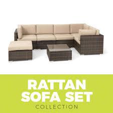 Rattan Curved Sofa by Rattan Garden Furniture Sets U0026 Aluminium Outdoor Furniture